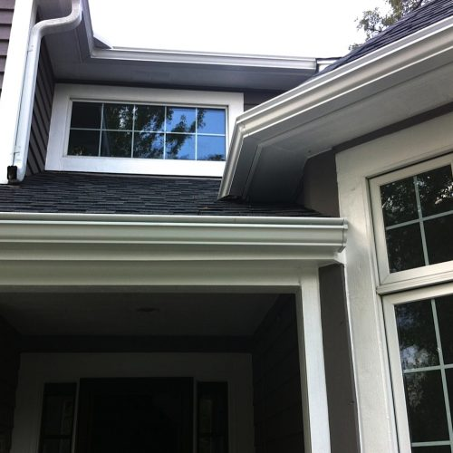 libertyville gutters and downspouts