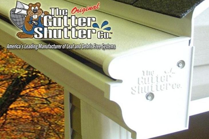 the amazing Innovative gutter shutter clog free gutters